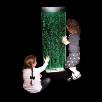 122cm Floor Standing Sensory Bubble Wall